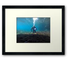 Scuba diving#26 Framed Print