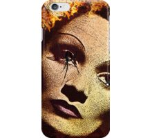 Flaming Dietrich iPhone Case/Skin