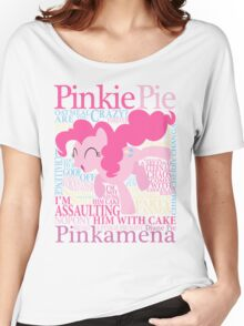 The Many Words of Pinkie Pie Women's Relaxed Fit T-Shirt