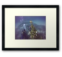 Scuba diving#28 Framed Print