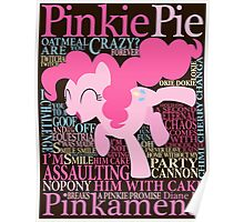 The Many Words of Pinkie Pie Poster