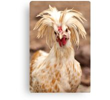 Bad Hair Day Rooster Art Print, Pillow, T-shirt, Hoodie, Tote Bag, iPhone Case, Samsung Galaxy Case, iPad Case Canvas Print