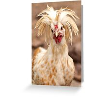 Bad Hair Day Rooster Art Print, Pillow, T-shirt, Hoodie, Tote Bag, iPhone Case, Samsung Galaxy Case, iPad Case Greeting Card