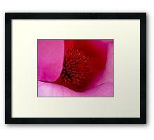 Fluoro Flora Framed Print