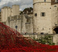 Tower of London Remembers Sticker