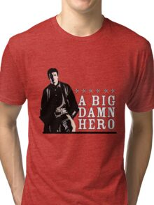 Firefly's Malcolm Reynolds: A Big Damn Hero Tri-blend T-Shirt