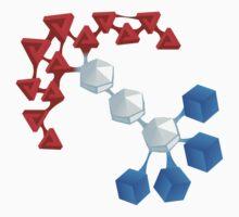 Glitch Compounds cosmox Kids Tee