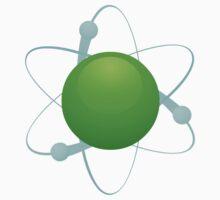 Glitch Compounds element green Kids Tee