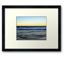 Manliest Beach Framed Print