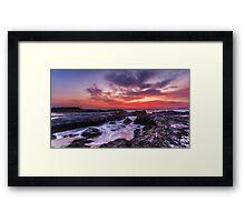 Heavens Glimps Part 1 Framed Print