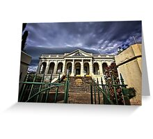 The Court House in Yass/NSW/Australia Greeting Card