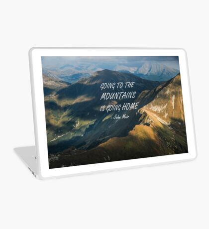 Going to the mountains 10 Laptop Skin