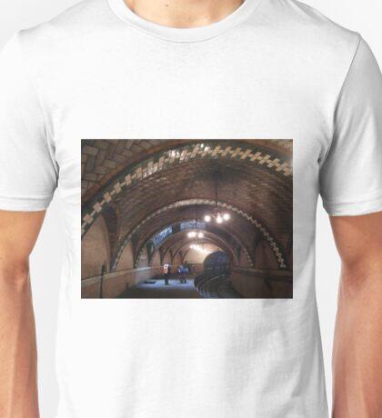 Historic City Hall Subway Station, New York City, Abandoned 1945  T-Shirt