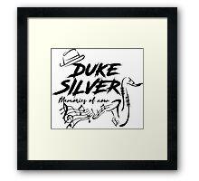 Duke Silver - Parks and Recreation Framed Print