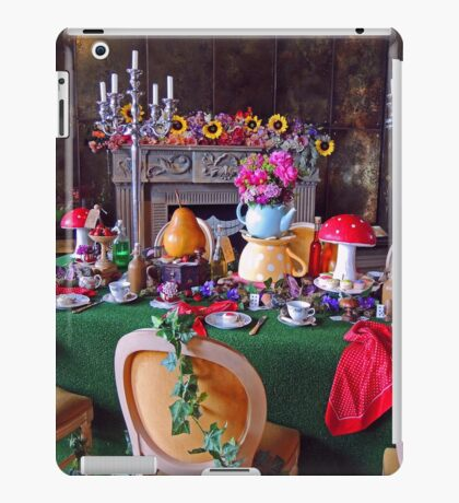 Mad Hatters Tea Party iPad Case/Skin