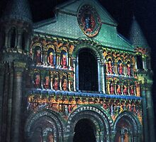 "Notre dame like you've never seen...  12 (t) as paint "" Picasso ""! olao-olavia  okaio Créations by Okaio - Olivier Caillaud"
