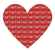 I Heart Tae Photographic Print