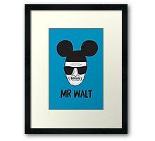 Mr. Walt Framed Print