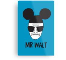 Mr. Walt Metal Print