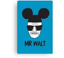 Mr. Walt Canvas Print