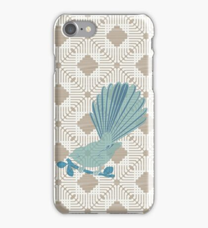 Fantail ply iPhone Case/Skin