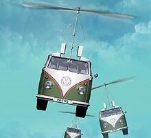 Flying car by Tony Vazquez