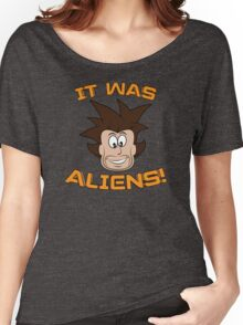 It Was ALIENS! Women's Relaxed Fit T-Shirt