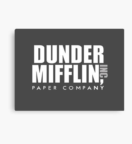 Dunder Mifflin INC Canvas Print