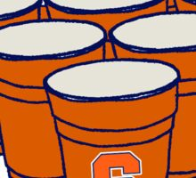 Syracuse Beer Pong Sticker