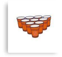 Syracuse Beer Pong Canvas Print