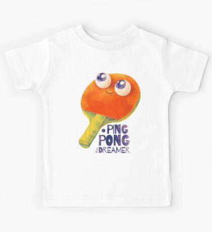 Ping-pong dreamer Kids Tee