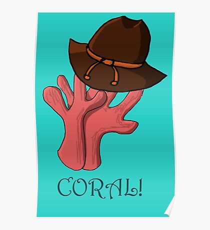 Coral Grimes - Carl  Poster