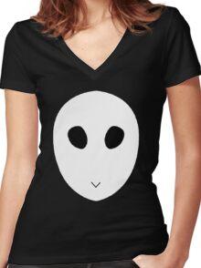 Batman - Court of Owls Women's Fitted V-Neck T-Shirt