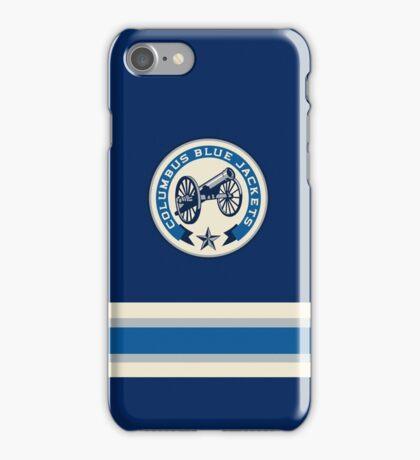 Columbus Blue Jackets Alternate iPhone Case/Skin