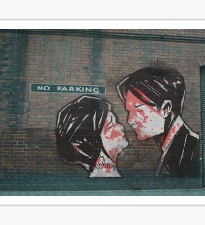 """My Chemical Romance - """"Three Cheers for Sweet Revenge"""" Album Artwork Graffiti  Sticker"""