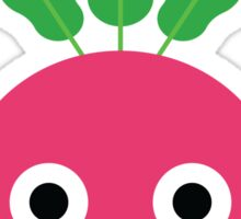 Radish Emoji Shock and Surprise Sticker