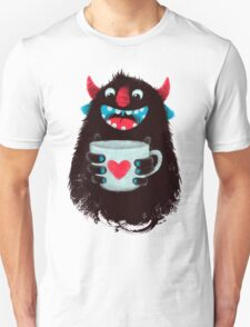 Demon with cup T-Shirt