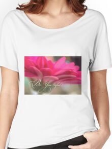 Be You (tiful) Beautiful Be You flower inspiration Women's Relaxed Fit T-Shirt