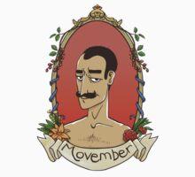 Movember by mariabluelines
