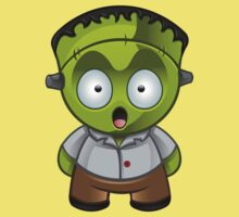 Frankenstein Monster Boy Shocked Kids Clothes