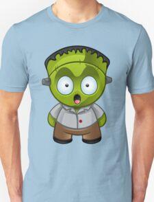 Frankenstein Monster Boy Shocked T-Shirt