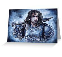Dwarven warrior Greeting Card