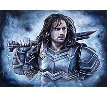 Dwarven warrior Photographic Print