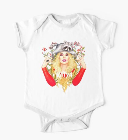 katya zamolodchikova One Piece - Short Sleeve