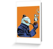 Fishlock Holmes Greeting Card