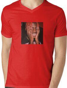Lil Yachty Grills Mens V-Neck T-Shirt