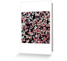 Floral Ecstasy Greeting Card