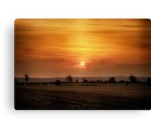 Sunset Sojourn Canvas Print
