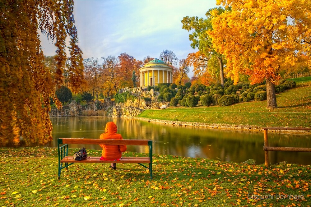 Enjoying Fall by Delfino