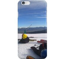 Skiing  iPhone Case/Skin